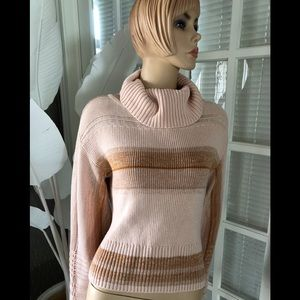 Bell sleeved turtleneck sweater by Free People NWT